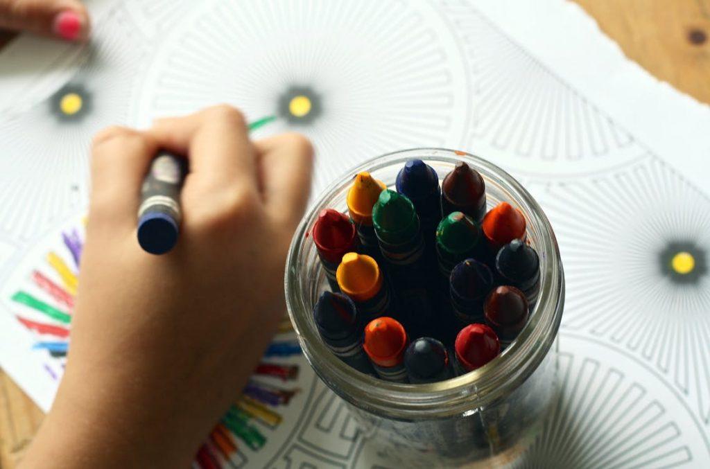 Barn der maler