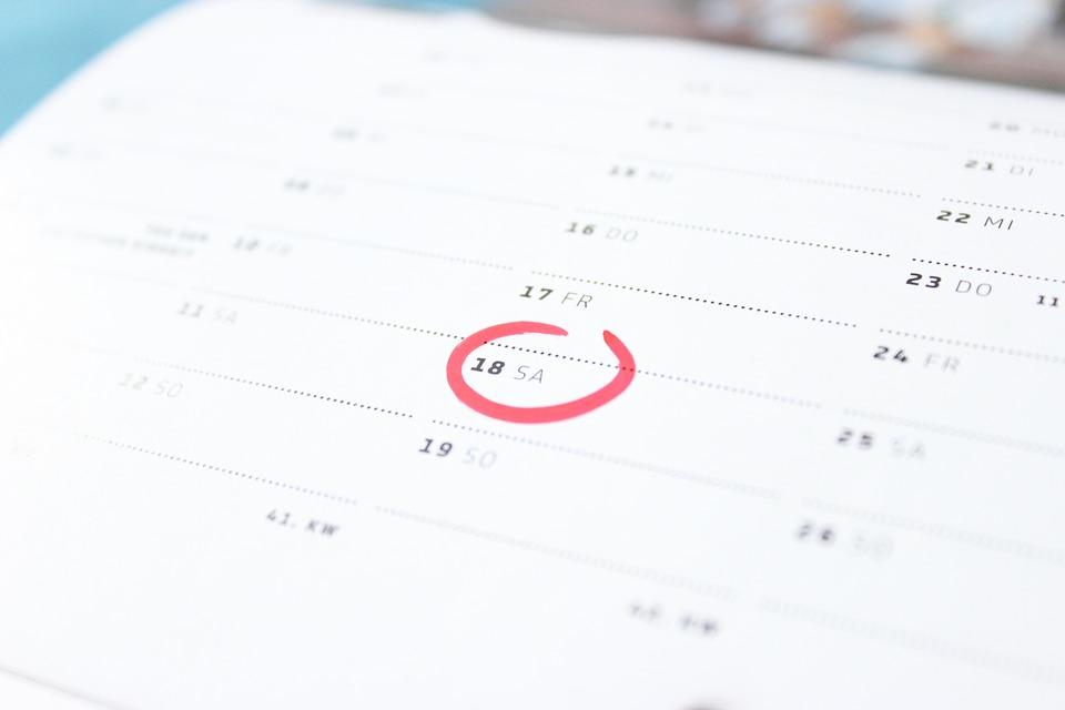 fysisk kalender