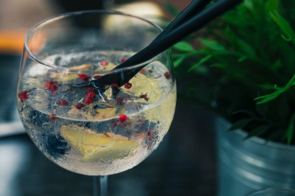 Glas gin